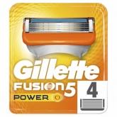 Gillette Fusion 5 Power Pieces De Gillette Fusion 4 Unités