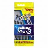 Gillette Blue3 4+1 Unités