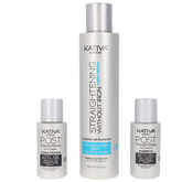 Keratin Anti-Frizz Smoothing Without Iron Repair Tips Set 3 Pieces
