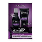 Kativa Keratin Post Smoothing Xpress Set 2 Pieces 2020