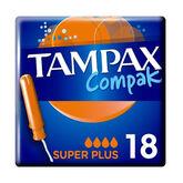 Tampax Compak Super Plus 18 Units