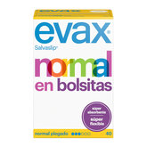 Evax  Normal Fresh Pantyliners Small Bags 40 Units