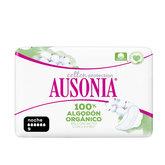 Ausonia Organic 100% Nuit Hélas 9 Unités
