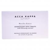 Acca Kappa White Moss Effervescent Bath Tablet 6x28g