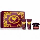Versace Crystal Noir Eau De Toilette Vaporisateur 50ml Coffret 3 Produits