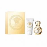 Versace Eros Pour Femme Eau De Parfum Vaporisateur 30ml Coffret 2 Produits