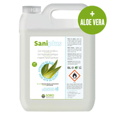 Hydroalcoholic Hand Gel Sanitizer With Aloe Vera 5 Litres