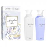 Adolfo Dominguez Agua Fresca De Rosas Gel Douche 500ml Coffret 2 Produits 2017