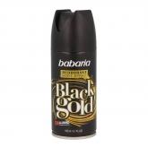 Babaria Black Gold Dèodorant Vaporisateur 150ml+50ml Gratuit