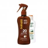 Babaria Coconut Protective Sun Oil Spf20 200ml Set 2 Pieces 2018