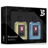 Brummel Eau De Cologne 125ml Coffret 2 Produits 2018