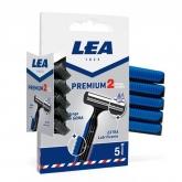 Lea Premium 2 Blades Disposable Blades 5 Units