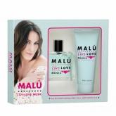 Malu Live Love Music Eau De Toilette Vaporisateur 100ml Coffret 2 Produits