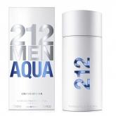 Carolina Herrera 212 Men Aqua Eau De Toilette Vaporisateur 100ml Edition Limitée 2017