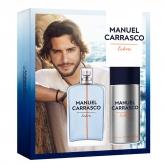 Manuel Carrasco Eau De Toilette Vaporisateur 100ml Coffret 2 Produits 2017