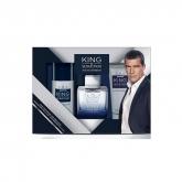 Antonio Banderas King of Seduction Eau de Toilette Vaporisateur 100ml Coffret 3 Produits 2018