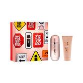 212 Vip Rose Eau De Toilette Spray 50ml Coffret 2 Produits 2020
