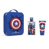 Marvel Captain America Eau De Toilette Vaporisateur 100ml Coffret 3 Produits 2020