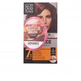Llongueras Color Advance Coffee Salon Collection Hair Colour 6.34 Blond Foncé Doré Cuivré