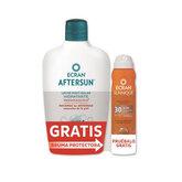 Ecran Aftersun Lait Hydratant Apaisant 400ml + Ecran Sunnique Brume Invisible Spf30 Vaporisateur 75ml
