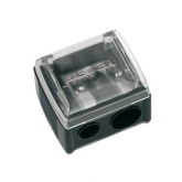 Beter Double Cosmetic Pencil Sharpener 8 and 12mm