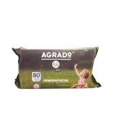 Agrado Wet Wipes For Children 80Unités