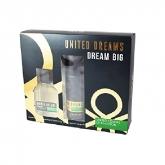 Benetton Man Dream Big Eau De Toilette Vaporisateur 100ml Coffret 2 Produits 2017