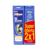 Williams Expert Anti-Dandruff Shampoo 2x250ml