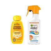 Delial Children Protective Moisturizing Spray Spf50 300ml Set 2 Pieces 2021