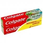 Colgate Herbal Original Dentifrice 2x75ml