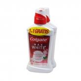 Colgate Max White Bain De Bouche 2x500ml