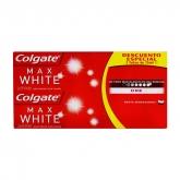 Colgate Max White One Toothpaste 2x75ml