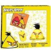 Angry Birds Yellow Eau De Toilette Vaporisateur 50ml Coffret 3 Produits