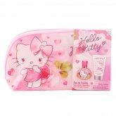 Hello Kitty Eau De Toilette Vaporisateur 50ml Coffret 3 Produits