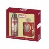 Marvel Iron Man Eau De Toilette Vaporisateur 100ml Coffret 2 Produits 2018