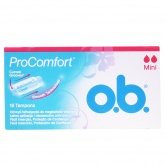 O.B. Pro Comfort Tampons Mini 16 Unités