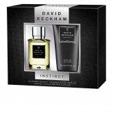 David Beckham Instinct Eau De Toilette Vaporisateur 30ml Coffret 2 Produits