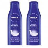 Nivea Body Milk Nourrisant 400ml Coffret 2 Produits