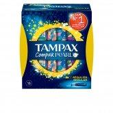 Tampax Pearl Compak Regular Buffer 18Uds