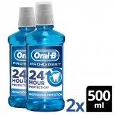 Oral-B Pro-Expert Rince-Bouche Protection Professionnelle 500ml Coffret 2 Produits 2017