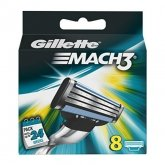 Gillette Mach3 Refill 8 Unités