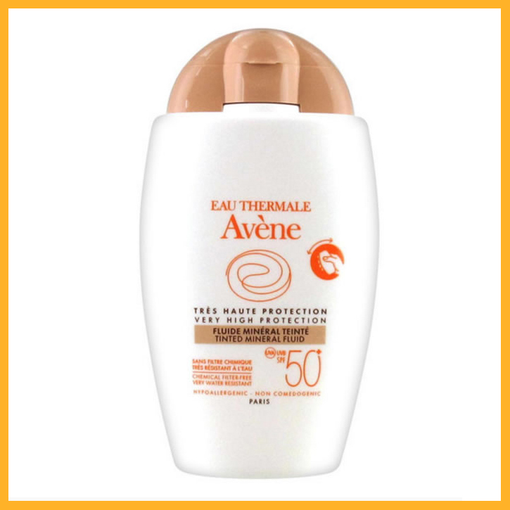 Avene Fluid Mineral Teinted Spf50+ 40ml