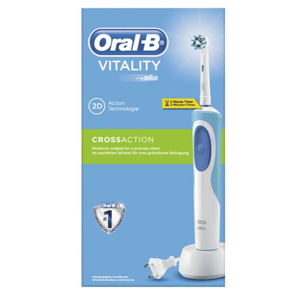 oral b brosse dents lectrique vitality crossaction. Black Bedroom Furniture Sets. Home Design Ideas
