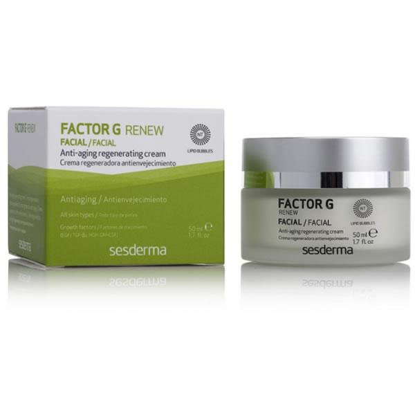 Sesderma Factor G Renew Anti Aging Regererating Cream 50ml