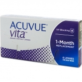 Acuvue Vita Contact Lenses 1 Mounth Replacement -2.50 BC/8.4 6 Units