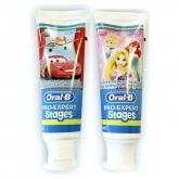 Oral B Pro Expert Stages Dentifrice Enfants 75ml