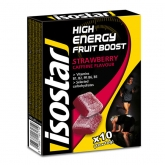 Isostar High Energy Fruit Boost Fraise x10(10x10g)