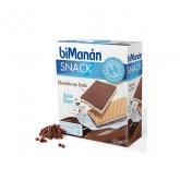 Bimanan Sustitutive Grignotines Chocolat au Lait et Yaourt 120g
