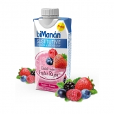 Bimanan Sustitutive Milk-shake Saveur Fruits Rouges 330ml