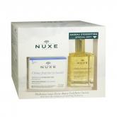 Nuxe Crème Fraîche De Beauté Crème Riche Hydratante 50ml Coffret 2 Produits 2018